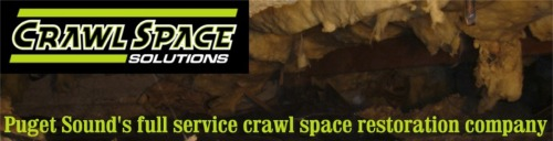 Crawl Space Solutions - Providing crawl space restoration services to the greater Puget Sound area.